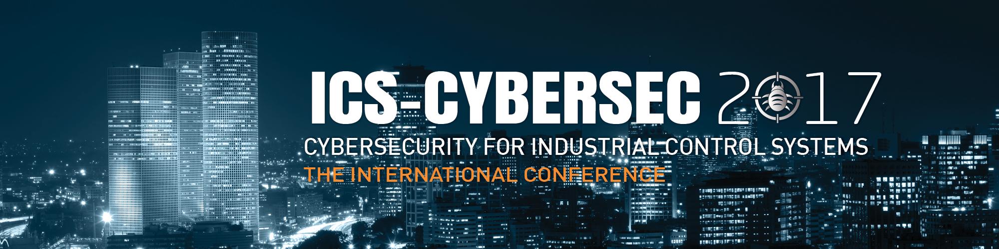 ICS CyberSec 2017 banner