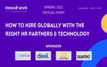 רביעי, 21 ביולי 2021, 09:00-17:00 - Innov8 Work Spring 2021 Hybrid, Virtual event