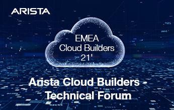 חמישי, 18 בנובמבר 2021, 08:00-14:00 - Arista Innovate 2021, EAST, Meitav 13, Tel-Aviv
