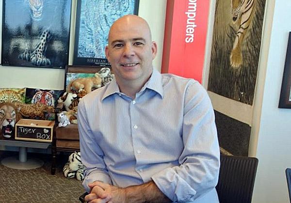 אלדד סימינקי, מנהל הפעילות האזורי של ברוקייד. צילום: פלי הנמר