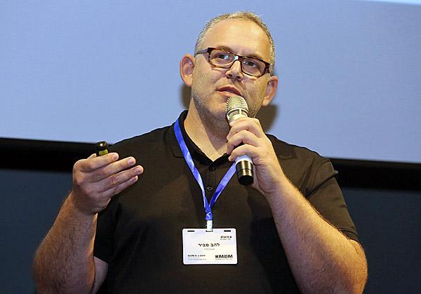להב סביר, היזם ומנהל הטכנולוגיות הראשי של AllCloud. צילום: ניב קנטור